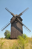 In Leśniów Wielki one can admire a 'koźlak'-type wooden windmill built at the  beginning of the 19th century