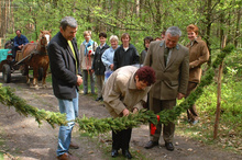 The opening of the forest educational path in Niwiska