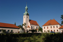 St. Mary's Church of Assumption in Nowogród Bobrzański.
