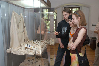 The exhibits at the Archeological Museum of the mid-Odra Region in Zielona Góra, located in Zielona Góra mit Sitz in Świdnica enjoy great popularity with the visitors